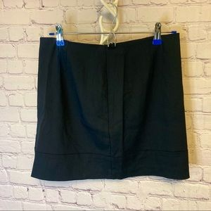 Express New black stretch mini skirt 9/10